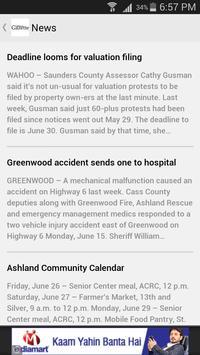 The Ashland Gazette apk screenshot