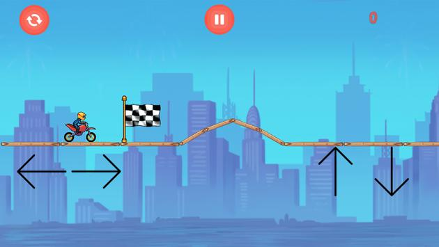 Bike Race - hardest game ever poster