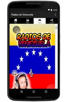 Radios de Venezuela Emisoras apk screenshot