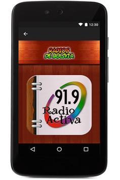 Radios de Bolivia en Vivo apk screenshot