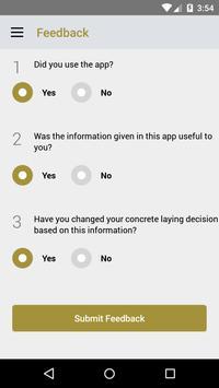 Smart Concreting App screenshot 5