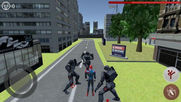 Super Hero Robot battle 3D apk screenshot