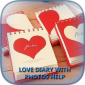 Love Diary With Photos Help icon