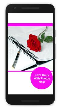 Love Diary With Photos Help poster