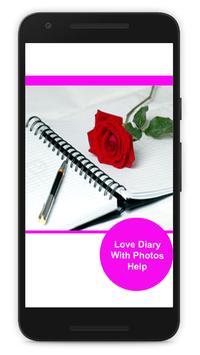 Love Diary With Photos Help screenshot 2