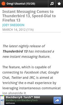 OMG! Ubuntu! News Reader apk screenshot