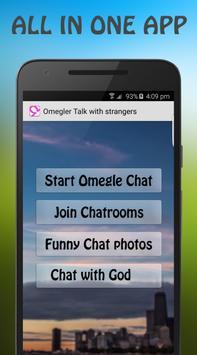 Talk with Strangers Omeglers apk screenshot