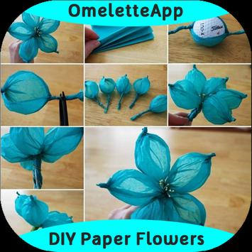 DIY Easy To Make Paper Flower poster