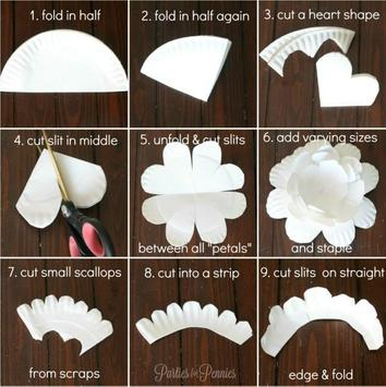 DIY Easy To Make Paper Flower screenshot 1