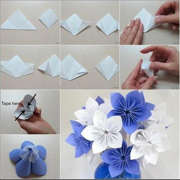 DIY Easy To Make Paper Flower screenshot 3