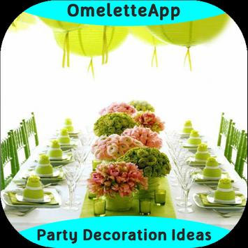 Party Decorations Ideas poster