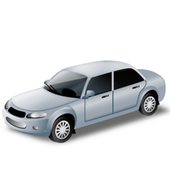 Rent a car (rent a car cepte) icon