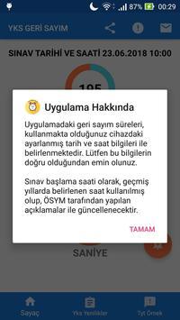 YKS Geri Sayım (Tyt'ye Kaç Gün Kaldı) screenshot 5