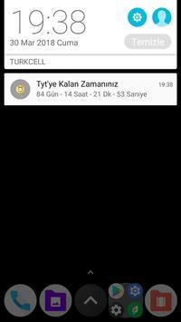 YKS Geri Sayım (Tyt'ye Kaç Gün Kaldı) screenshot 1
