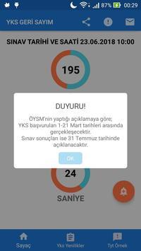 YKS Geri Sayım (Tyt'ye Kaç Gün Kaldı) screenshot 2