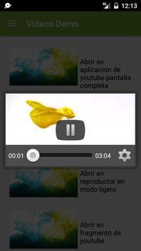 Videos demo - omespino apk screenshot
