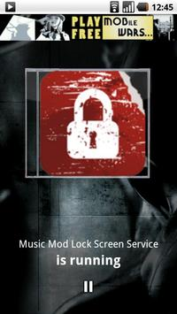 Music Mod Lock Screen apk screenshot