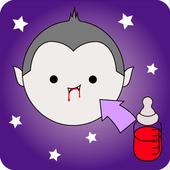 Halloween babysitting icon