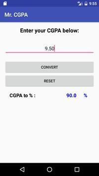 Mr.CGPA screenshot 3