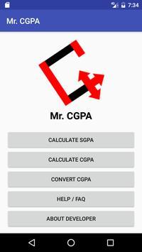 Mr.CGPA poster