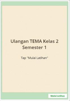 Sukses UAS SD Kelas 2 semester 1 screenshot 5