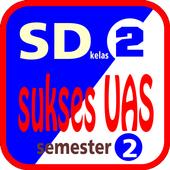Sukses UAS SD Kelas 2 semester 2 icon