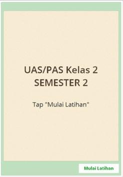 Sukses UAS SD Kelas 2 semester 2 screenshot 4
