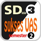 Sukses UAS SD Kelas 3 semester 2 icon