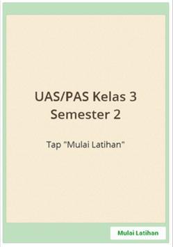 Sukses UAS SD Kelas 3 semester 2 screenshot 4