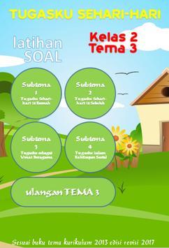 Latihan Soal SD Kelas 2 Tema 3 screenshot 1