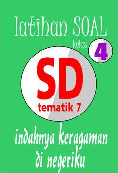 Latihan Soal SD Kelas 4 Tema 7 poster