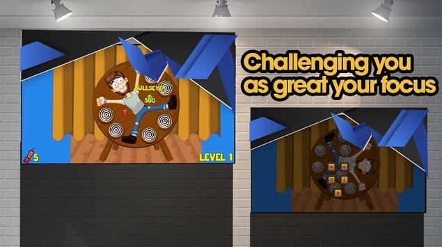 Dart Bord Focus Game screenshot 1
