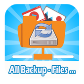 Restore Deleted Photos videos & Backup and restor icon