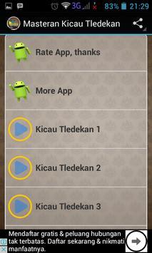 Chirping Masteran tledekan screenshot 1