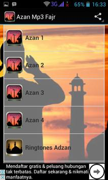 Azan mp3 Fajr poster