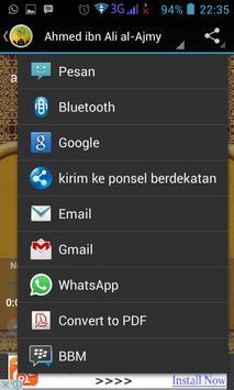 Surah Al Hashr Mp3 screenshot 4