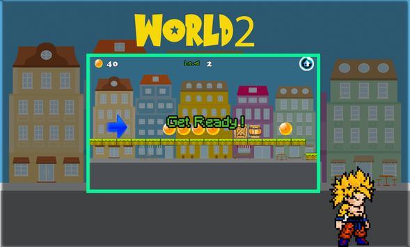 Super Dragon Z Adventure rush apk screenshot