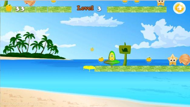Sponge Ball dash apk screenshot