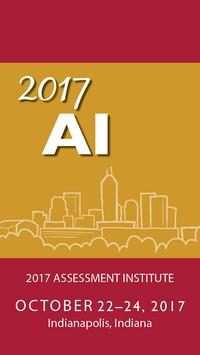 Assessment Institute 2017 poster