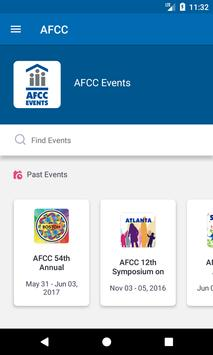 AFCC Events apk screenshot
