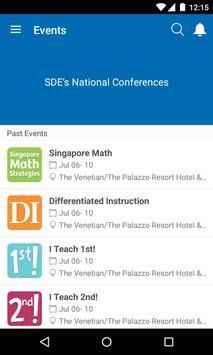 SDE National Conferences apk screenshot