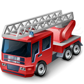 Fire Engine Lights And Siren icon