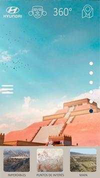 Explore Teotihuacan French poster