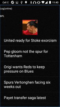 Soccer 442 Free screenshot 5