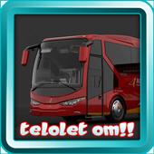 Klakson Telolet Om Bus Mania icon