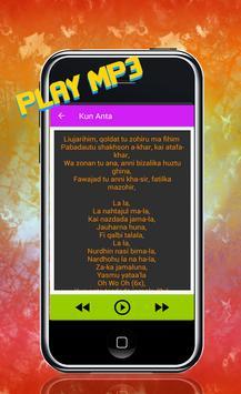 Lagu Kun ANTA MP3 Terbaru screenshot 1