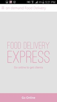 on demand Food Delivery screenshot 3