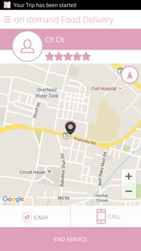 on demand Food Delivery screenshot 5