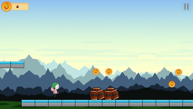 Sarah And Duck Running screenshot 1