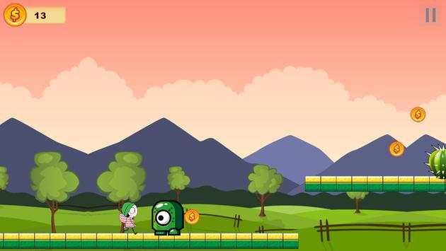 Sarah And Duck Running screenshot 2